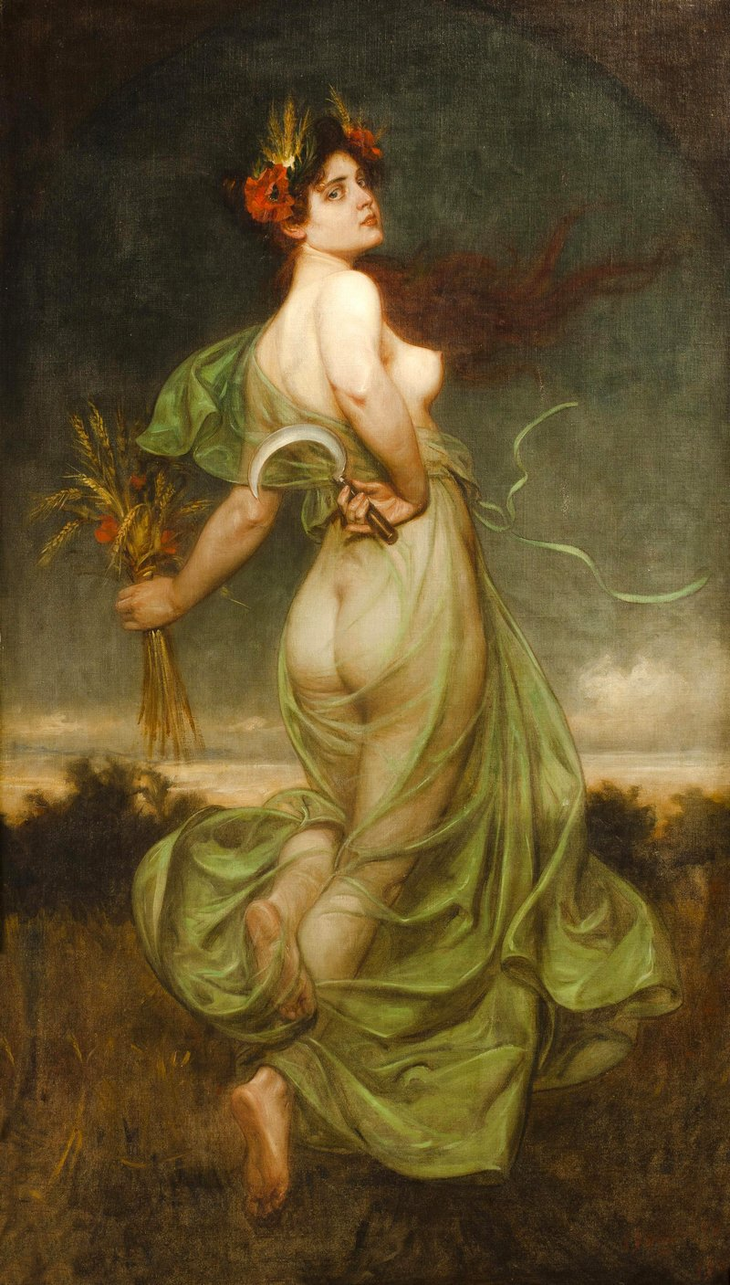 allegory of summer by Franz Bohumil Doubek