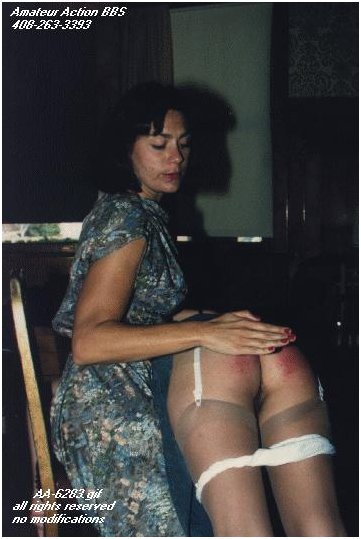 momma spank