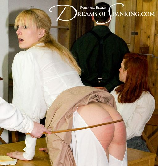 Amelia Jane Rutherford getting caned