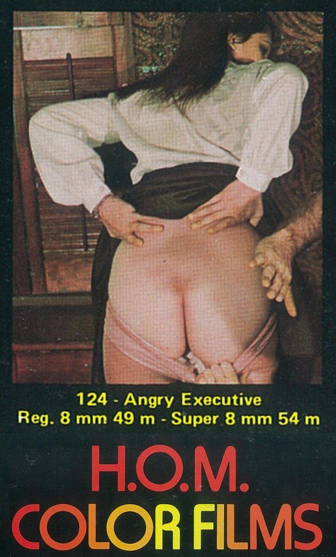 panties down spanking 8mm HOM loop