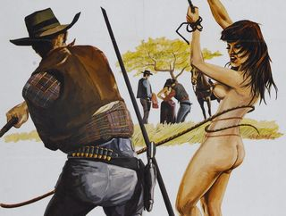 woman whipped by a cowboy