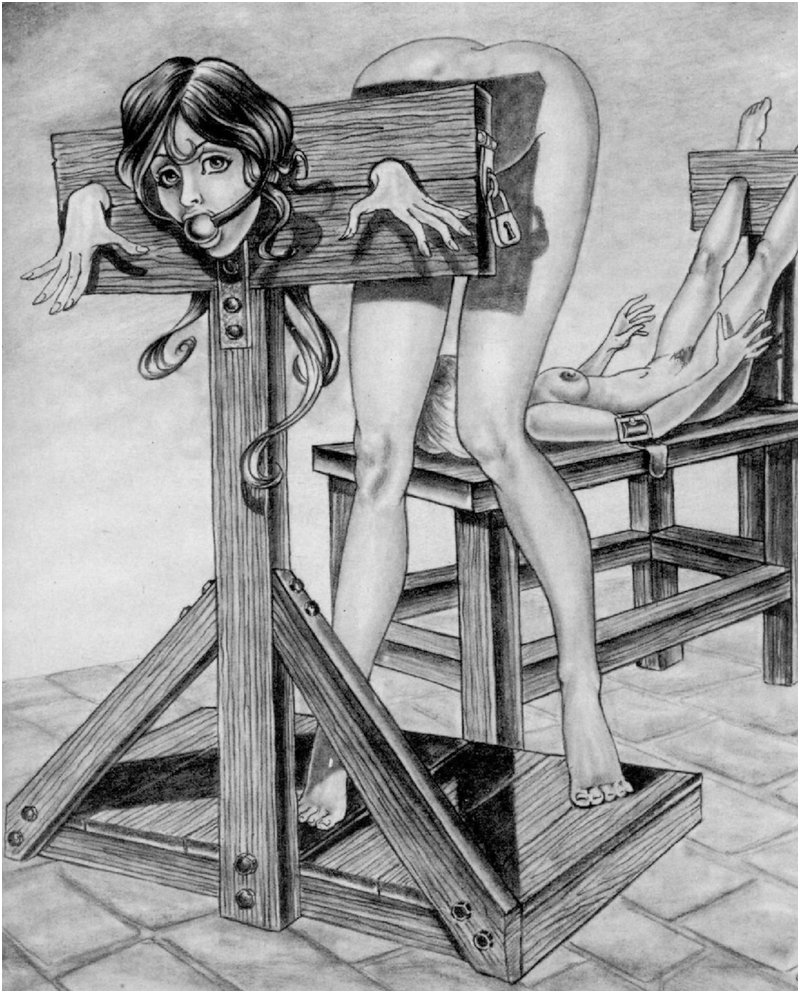 a pillory for spanking or bondage sex