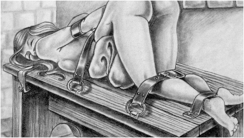 bondage spanking bench by J. Ashely