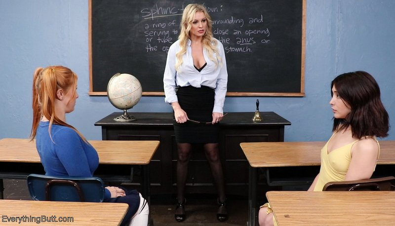 stern instructor at anal class
