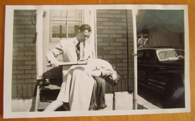 backyard bad girl vintage snapshots spanking scene
