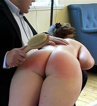 bath brush spanking