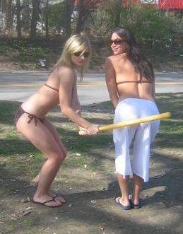 t-ball spanking