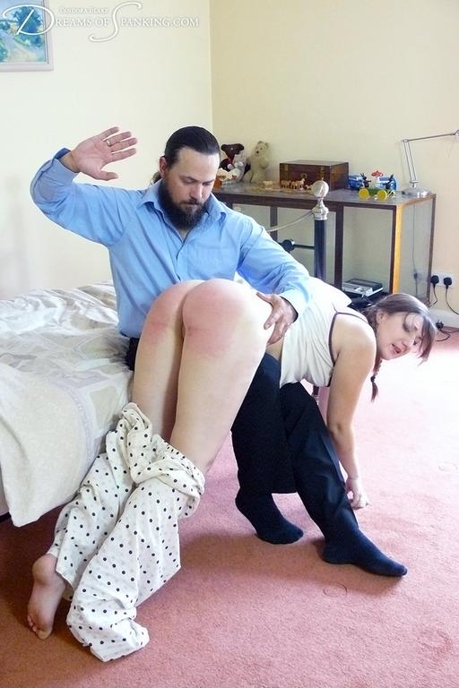 Pandora Blake gets a much-needed bedtime spanking
