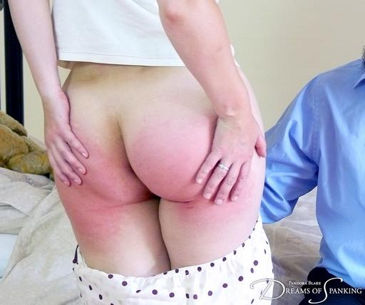 pandora\'s spanked bottom
