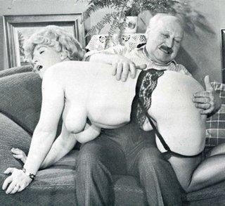 BBW OTK spanking