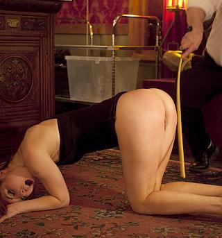 cane landing hard on her bottom in 3,2,1...