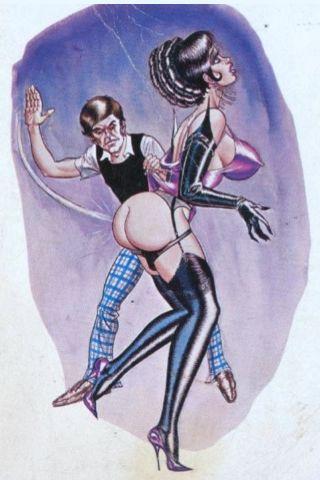 spanking cover art
