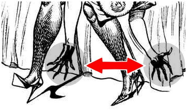 unfortunate hand drawings in bill ward spanking art