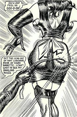 bill ward spanking art