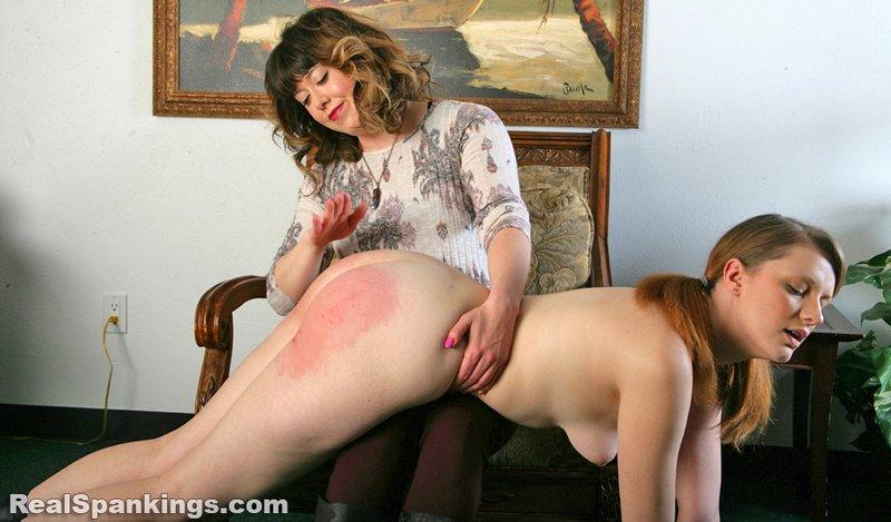 red bottom bliss spanking