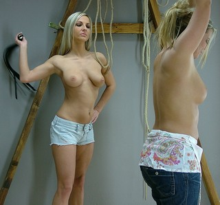 blonde whipping blonde