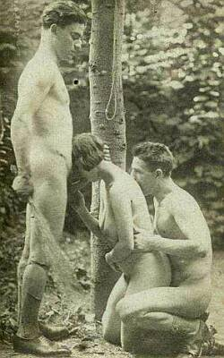 birching and blowjob