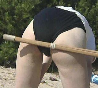 spanked with bokken