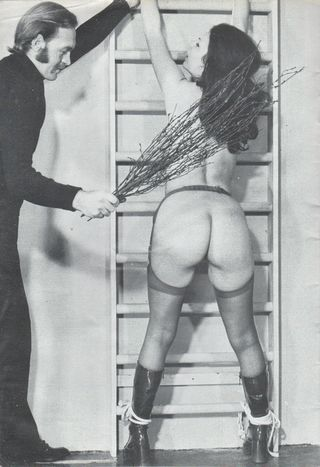 birched in vintage bondage