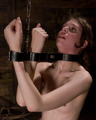 bondage fiddle steel manacles