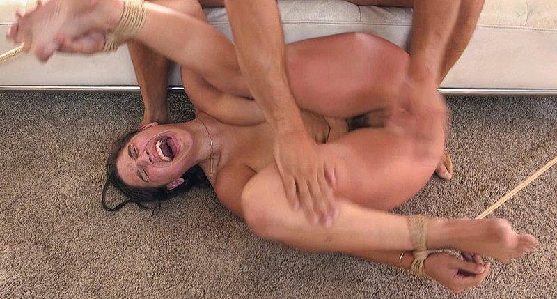 bondage pussy spanking