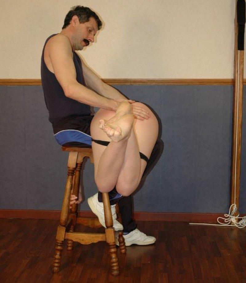 borat makes sexy spanking time
