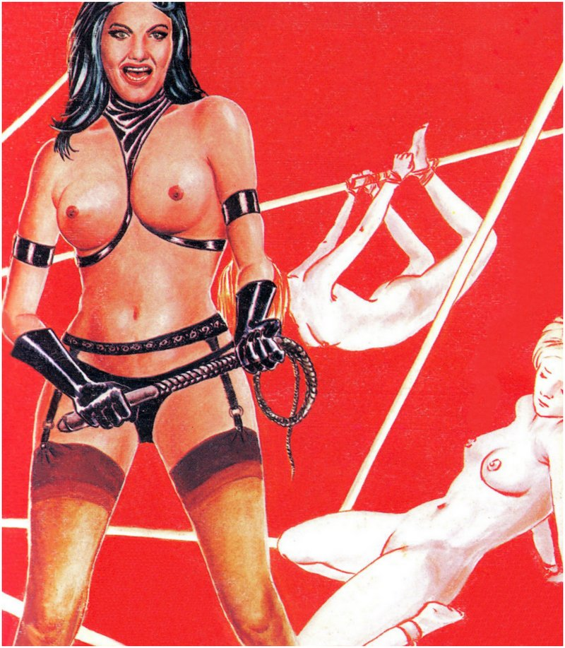 topless whip dominatrix