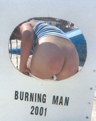 spanking camp at Burning Man