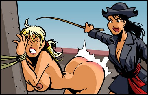 caned-by-female-pirate