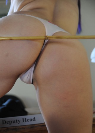 a cane for the new headmistress