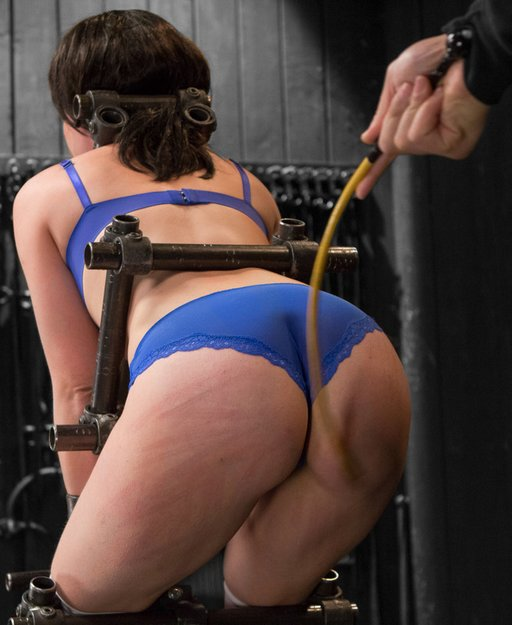 caning Proxy Paige\'s pretty bottom