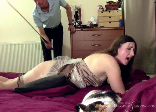 pandora blake enjoys her sensual caning