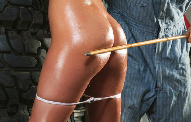 caned in the tire service department