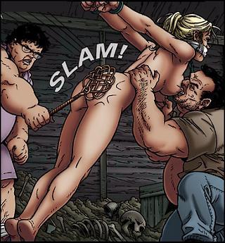 carpet beater ass beating