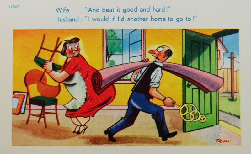 carpet beater and wife spanker