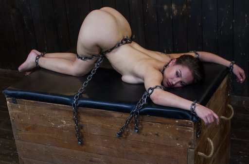 chained-on-paddling-bench