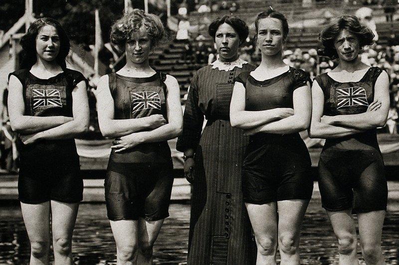 british olympic women swimmers
