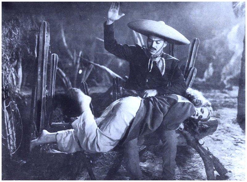 mexican lobby card spanking