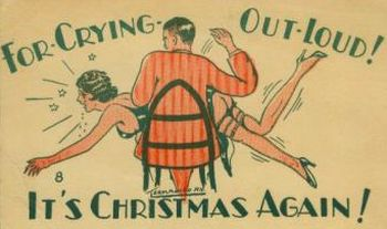a christmas spanking