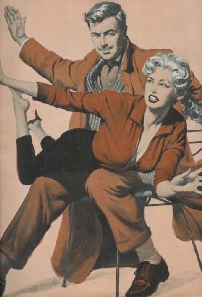clark gable gives a spanking