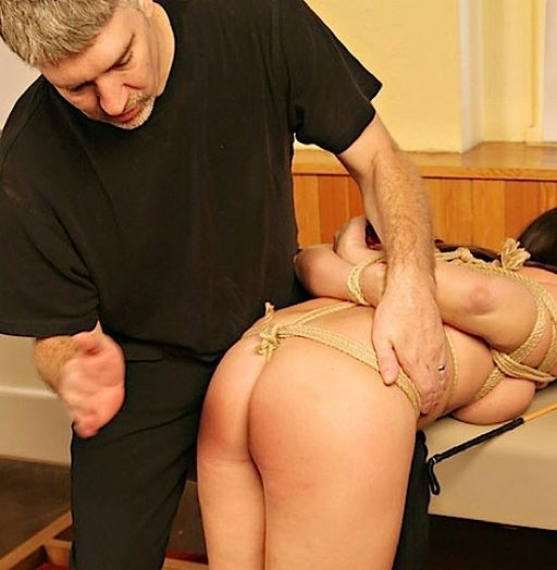spanking cori lou while she\'s tied up