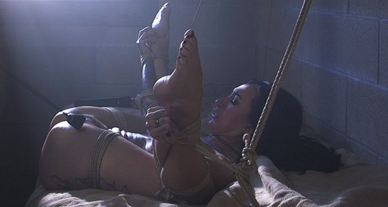 helpless to prevent her pussy whipping with riding crop
