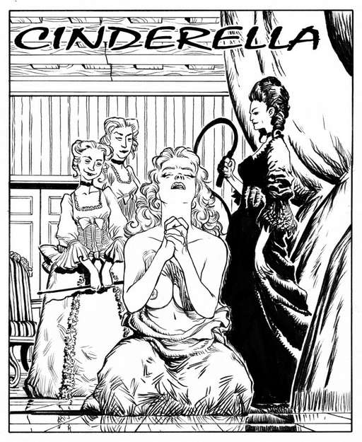 Cinderella gets punished by her evil stepmother and cruel stepsisters