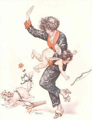 cupid's spanking