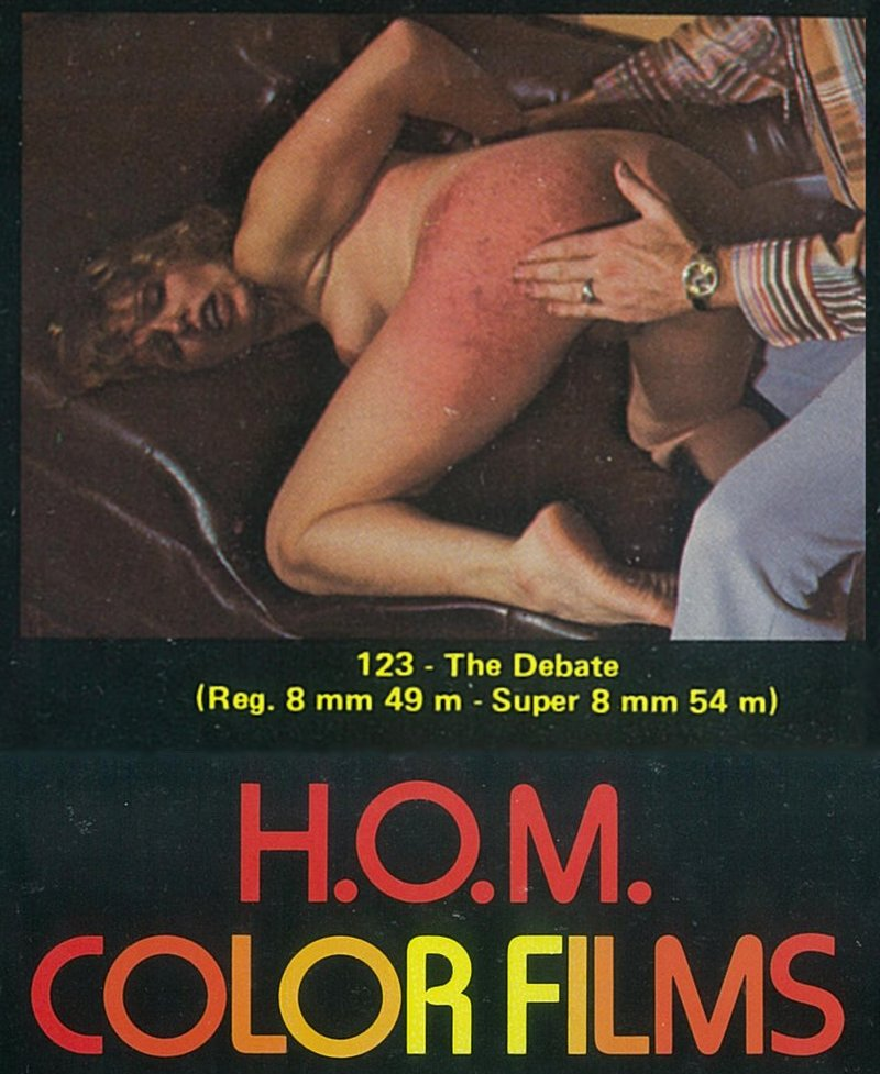 The Debate HOM spanking movie 8mm loop