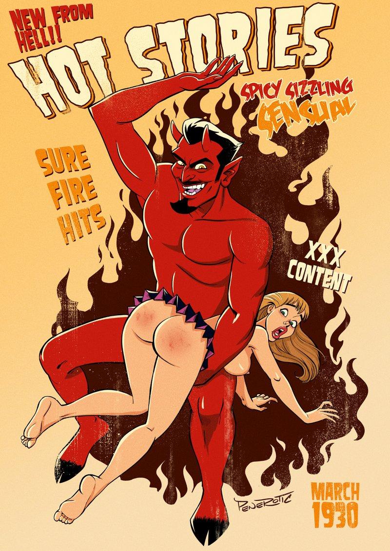 hot devil spanking
