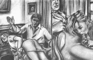 spanking plus blowjob