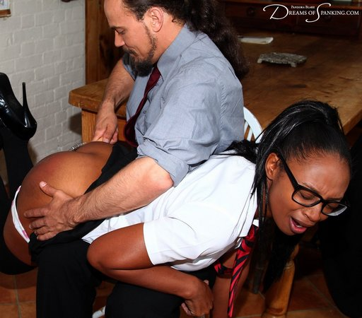 her spanking is more than she bargained for
