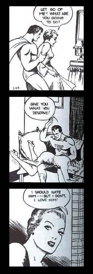vintage superman spanking