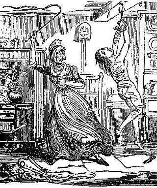apprentice girl flogging